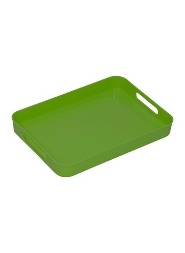 Herevin Dikdörtgen Tepsi Yeşil Yeşil